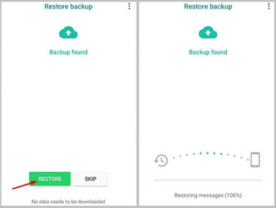 Recover Deleted WhatsApp Messages after Uninstall