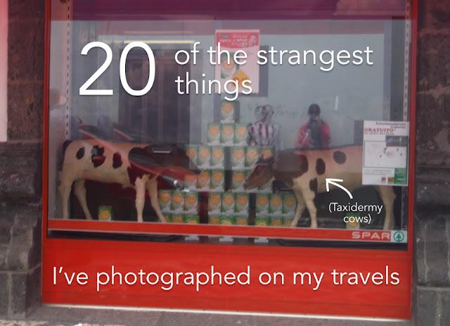 weirdest travel photos