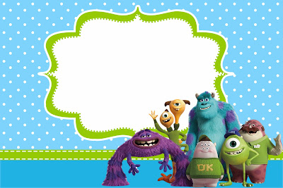 Baby Monster Inc Cake Toppers