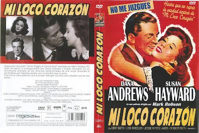 Carátula de DVD: Mi loco corazón (Fiel a tu recuerdo) (1949)