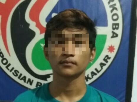 Tim Drugs Hunter Polres Takalar, Amankan Seorang Pelajar (MR) Yang Terlibat Peredaran Sabu