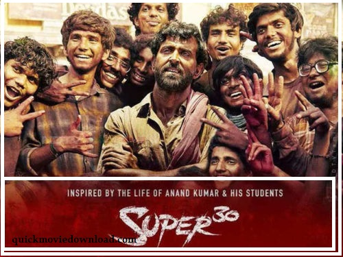 Super 30  Full Movie Download in HD 720p by Tamilrockers & Filmywap (2019)