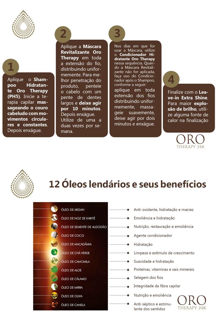 Resenha da Linha Oro Therapy (Natumax)