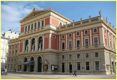 Edificio de la Sociedad Filarmónica de Viena
