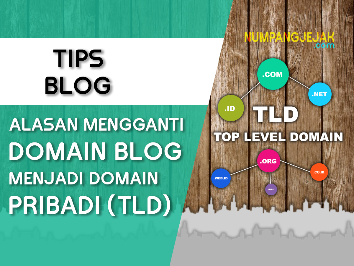 Alasan mengapa harus mengganti Domain Blog menjadi Domain Pribadi