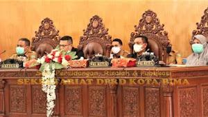 DPRD Kota Bima Gelar Paripurna Ke-5 Tentang Pandangan Umum Fraksi Terhadap Raperda