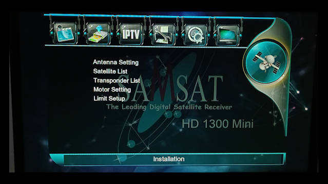 Samsat Hd1300 1506g 1g 8m latest Software