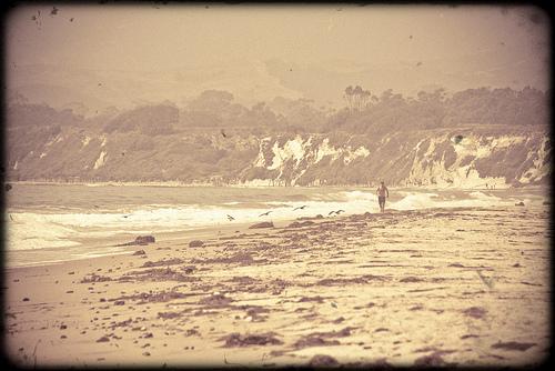Il fait du soleil: vintage beach