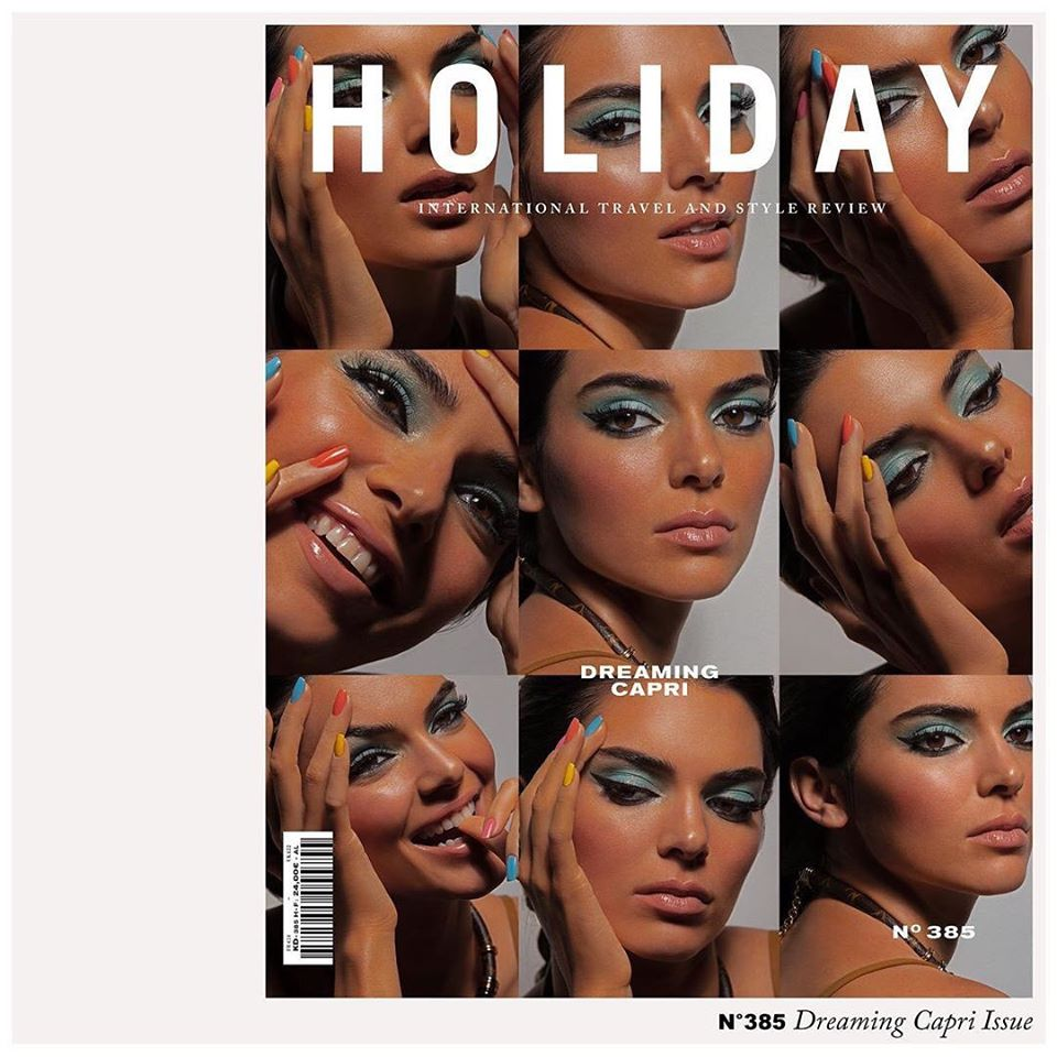 Kendall Jenner poses for Holiday Magazine Spring/Summer 2020