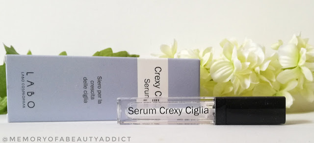 Crexy ciglia serum presentazione