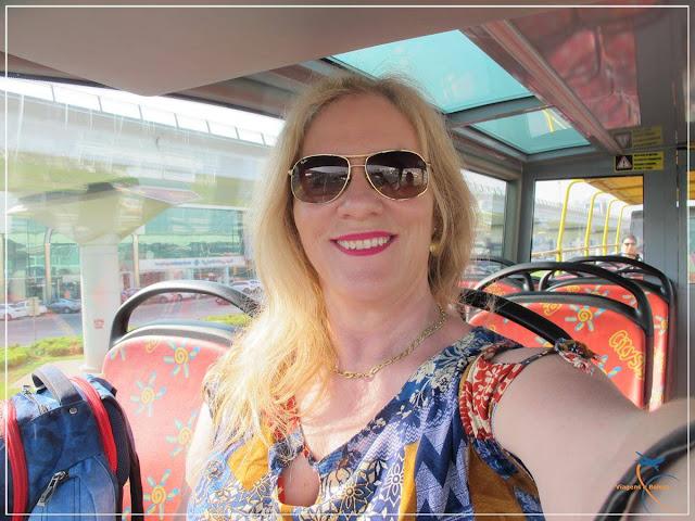 Ônibus turismo double deck em Sharjah