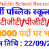 Army Public School Recruitment for the posts of TGT, PGT, PRT Last date 22/09/2019