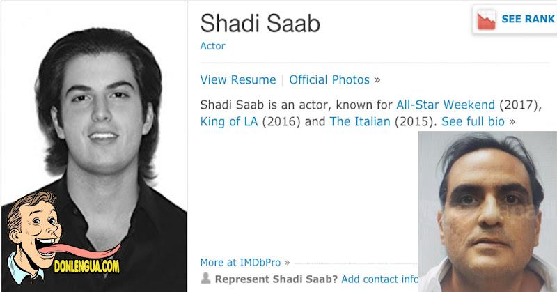 SORPRESA | Hijo de Alex Saab es un actor de Hollywood
