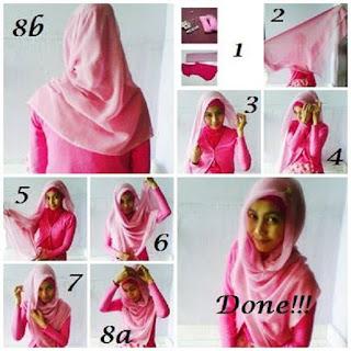 model jilbab pasmina modern