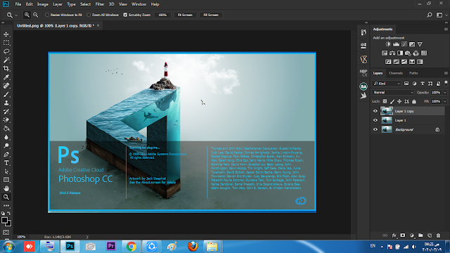 Download and install Free Adobe Photoshop CC