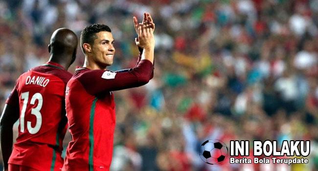 RONALDO : Portugal Harus Realistis Di Piala Dunia 2018