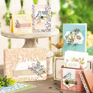Stampin' Up! Free as a Bird Bundle ~ 2019-2020 Annual Catalog #stampinup