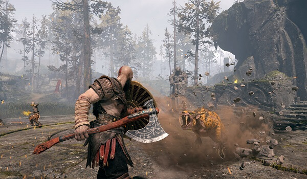 تحميل لعبة God Of War 4 للكمبيوتر