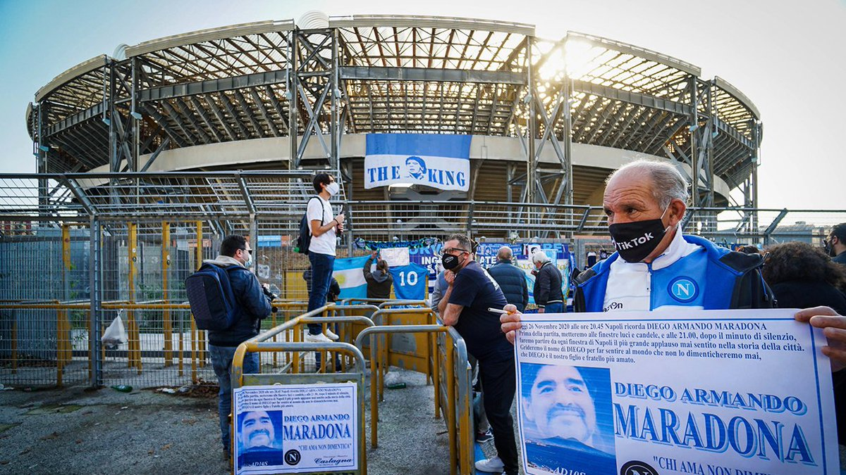 Stadion Diego Armando Maradona Akan Diresmikan Pekan Depan