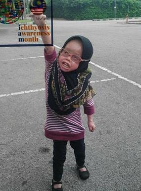 Nurfarisha Dania (6) tahun