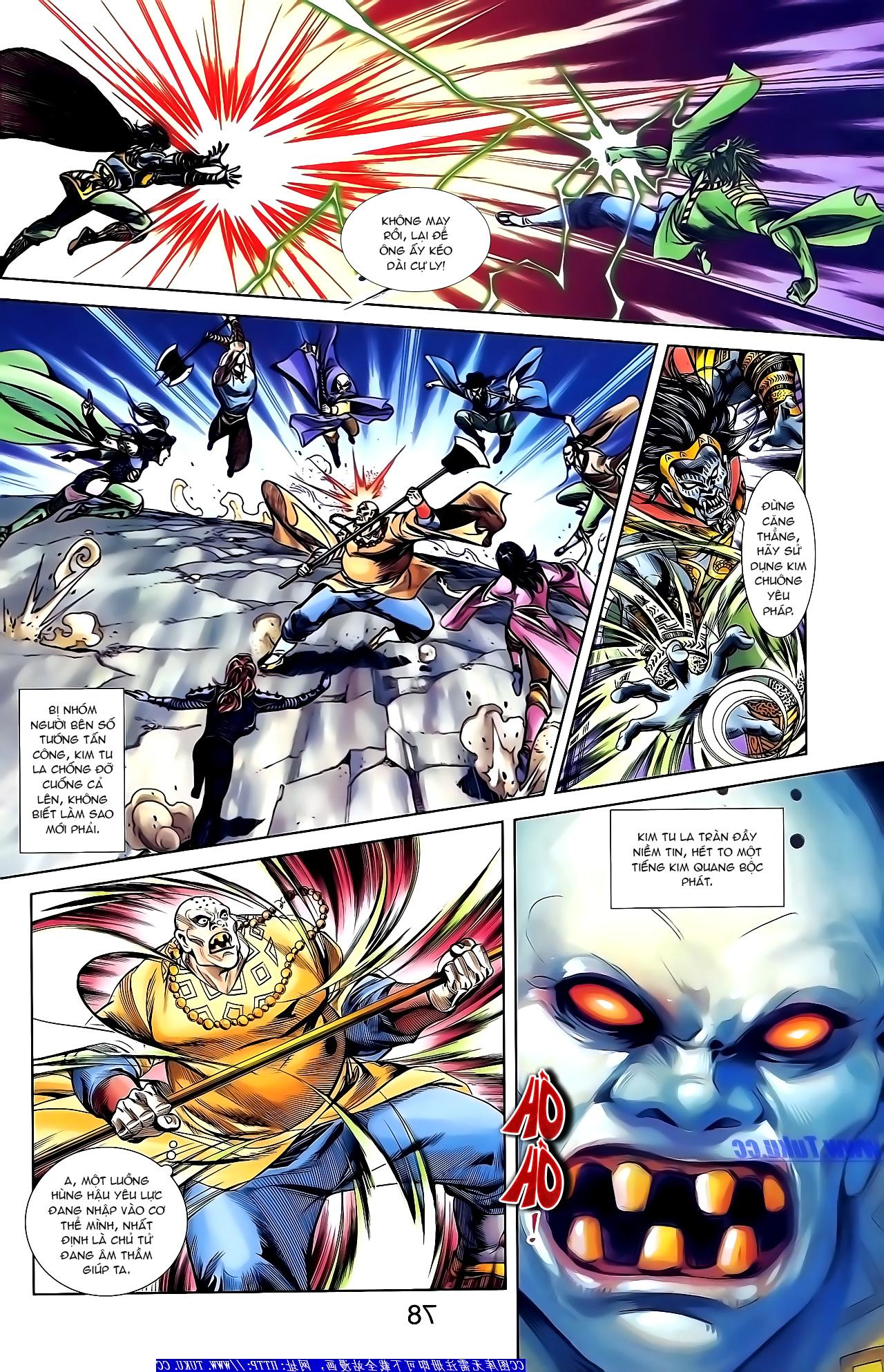 Cơ Phát Khai Chu Bản chapter 155 trang 9