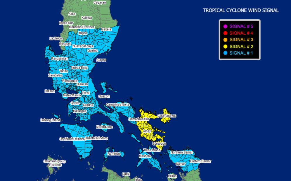 'Bagyong Rolly' PAGASA weather update October 31, 2020