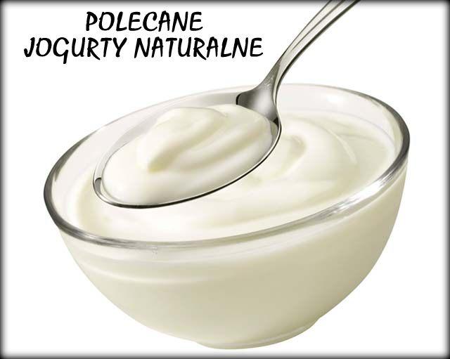POLECANE jogurty naturalne