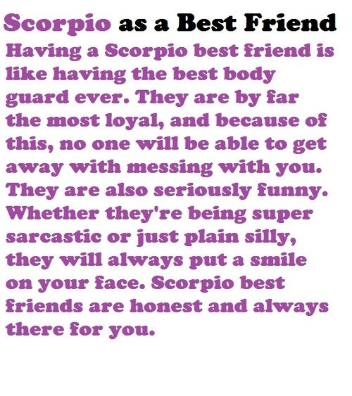 18 Quotes about Scorpio and Friendship | Scorpio Quotes