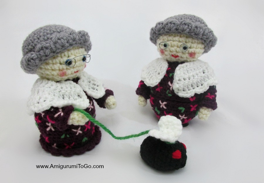 032 Crochet Pattern - Lady Figurine - Doll with wire frame ... | 627x900
