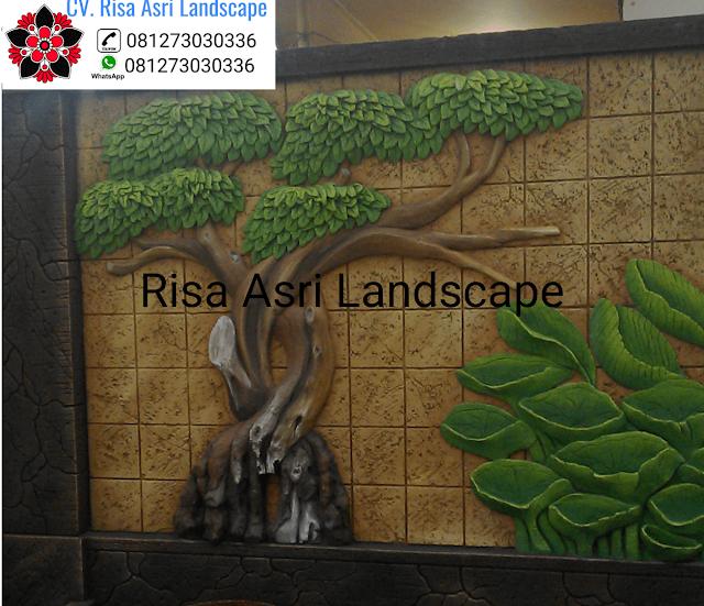 berisikan artikel tentang dekorasi kolam tebing surabaya, tukang dekorasi relief 3d surabaya