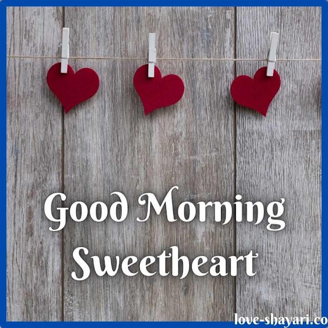 sweet love good morning image