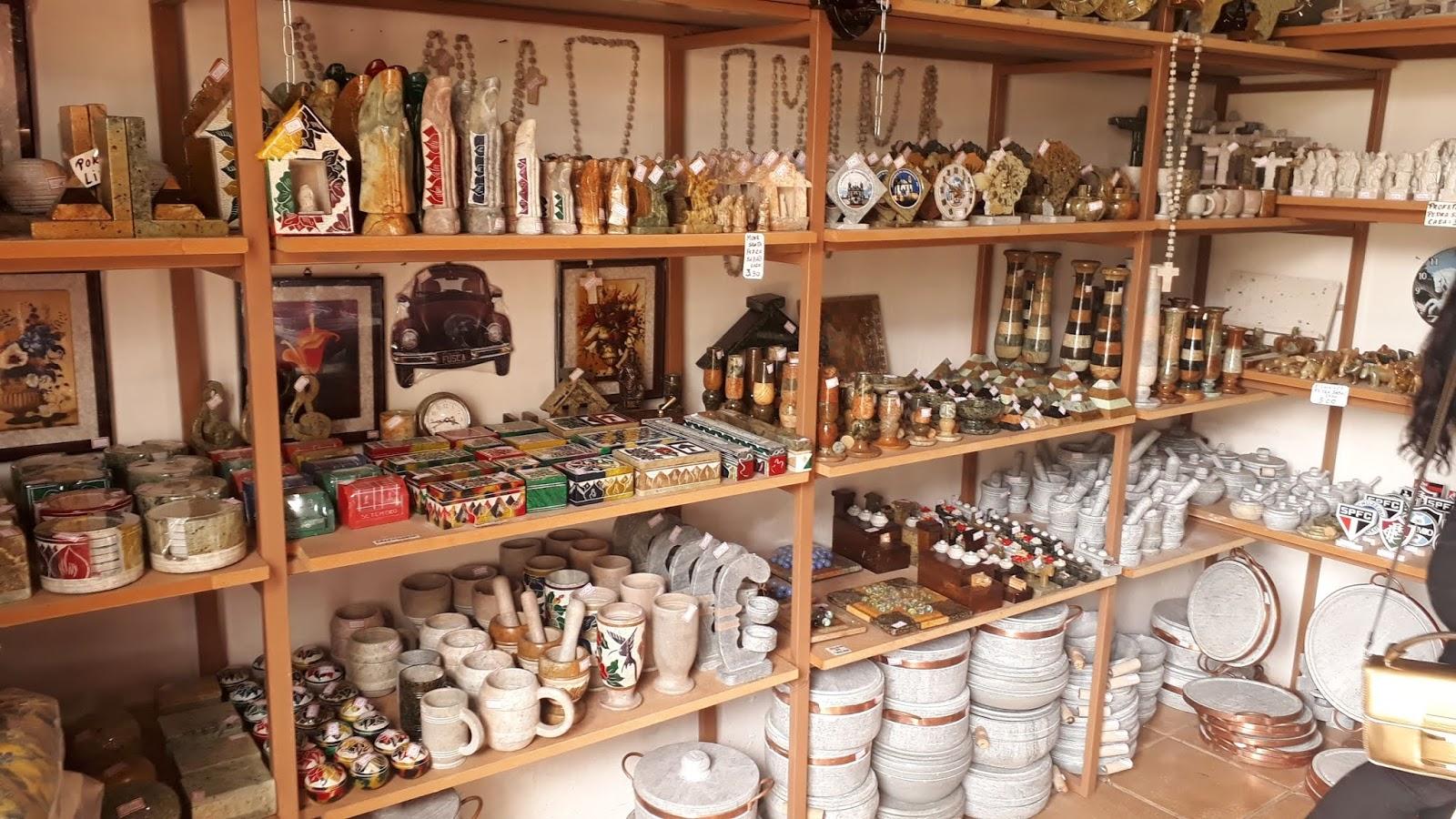 lojas de artesanato Santuário do Bom Jesus do Matozinhos