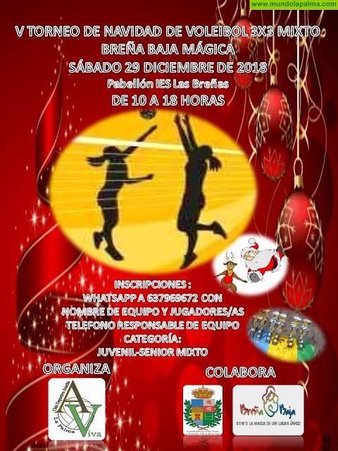 """BREÑA BAJA NAVIDAD: V Encuentro de Voleibol de Navidad """"Breña Baja Mágica"""""""