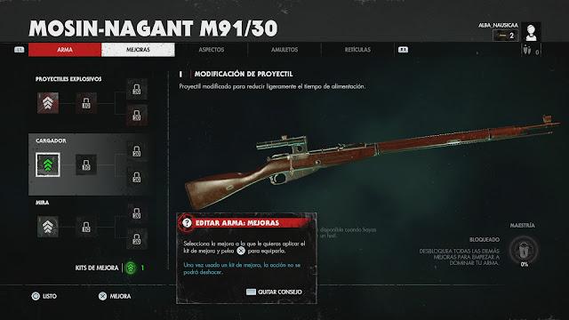 zombie army 4 mejoras