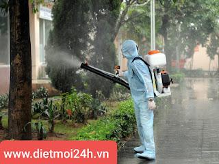 Phun khử trùng, sát khuẩn tại Thái Bình