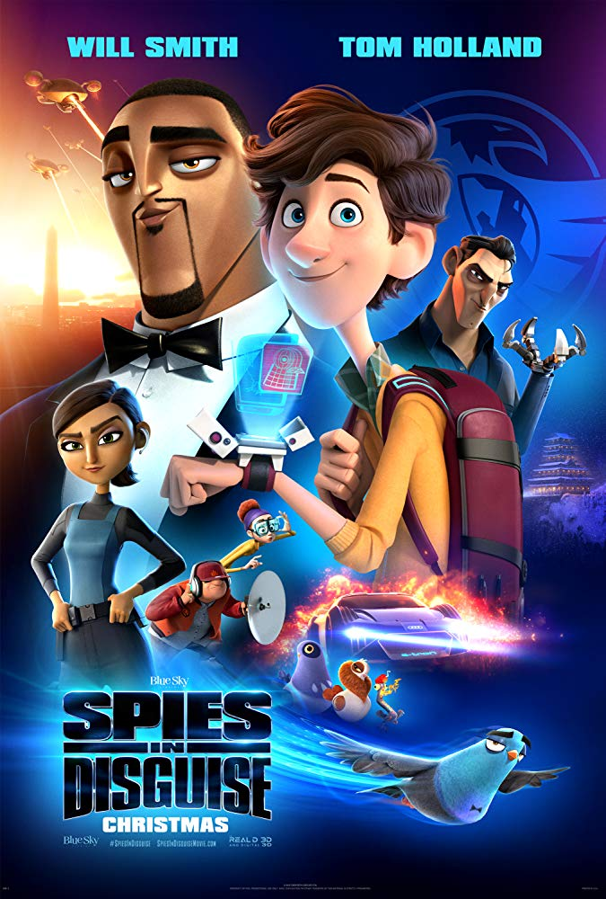 Spies in Disguise 2019 HDCAM 720p Full Movie Download