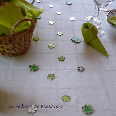 table de la St Patrick 2012