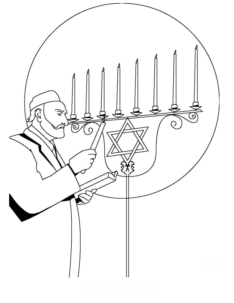 candle coloring pages | Church Candles Coloring Pages To Print