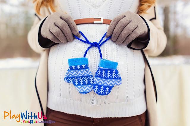 être enceinte en hiver