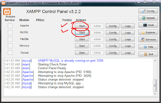 xampp controllpanel