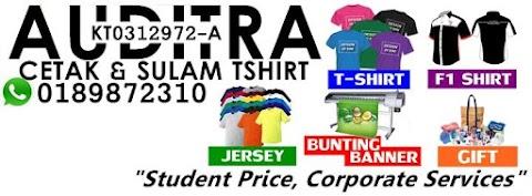 Auditra Printing : Pakar Cetak T-Shirt Anda!
