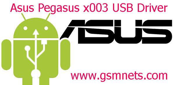 Asus Pegasus x003 USB Driver