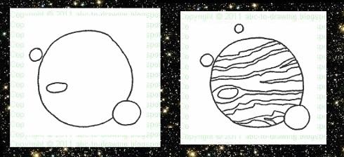 planet jupiter drawing - photo #36