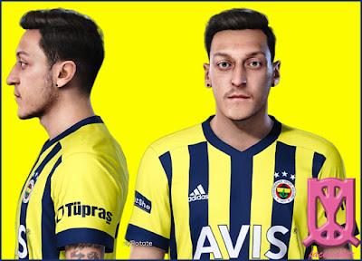 PES 2021 Mesut Özil Face by Ummah Qiya