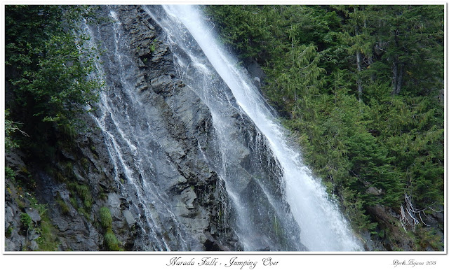 Narada Falls: Jumping Over