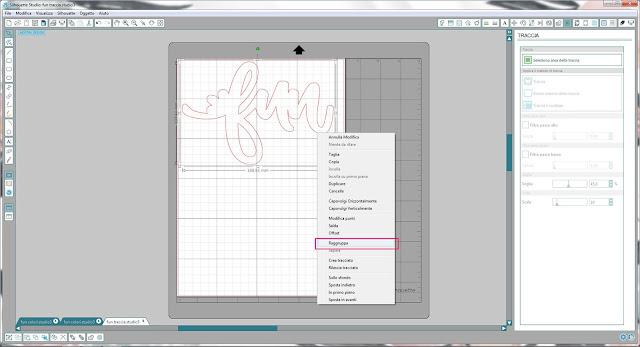 Come utilizzare singoli file .png nella modalità Print & Cut | Silhouette Cameo step11