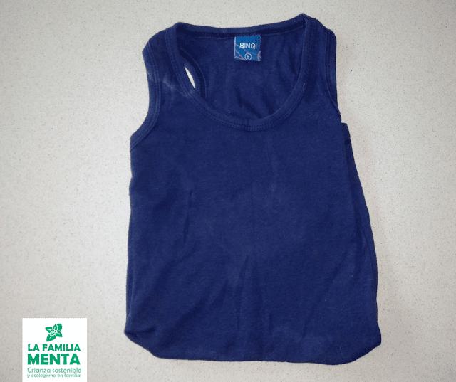 Actividad para niños: crea bolsas para la compra con ropa vieja