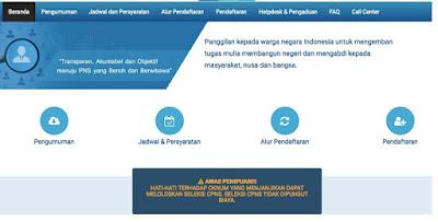 Cara Mendaftar CPNS di SSCN.BKN.go.id