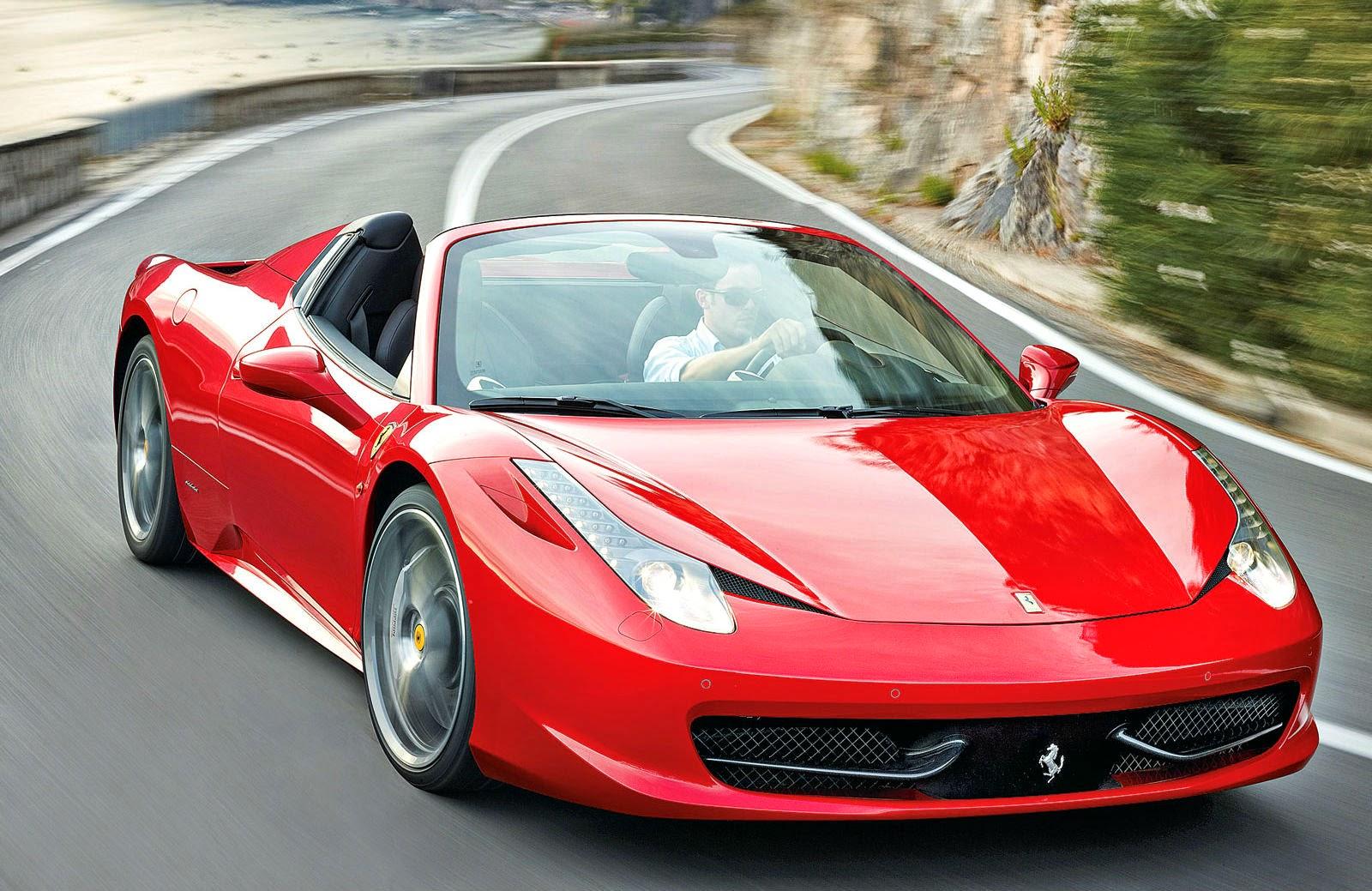 Ferrari 458 Spider Hire Luxury Cars Hire London Uk