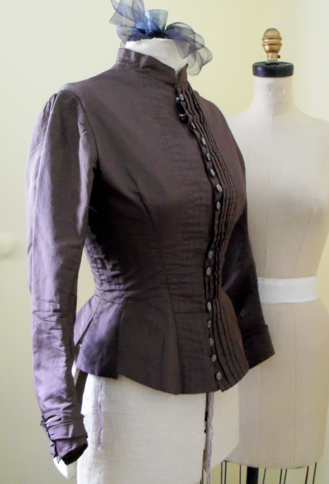 Sewing Cafe Victorian Bodice Thrift Store Find